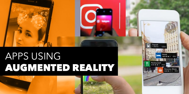 Apps Using Augmented Reality - Nevina Infotech