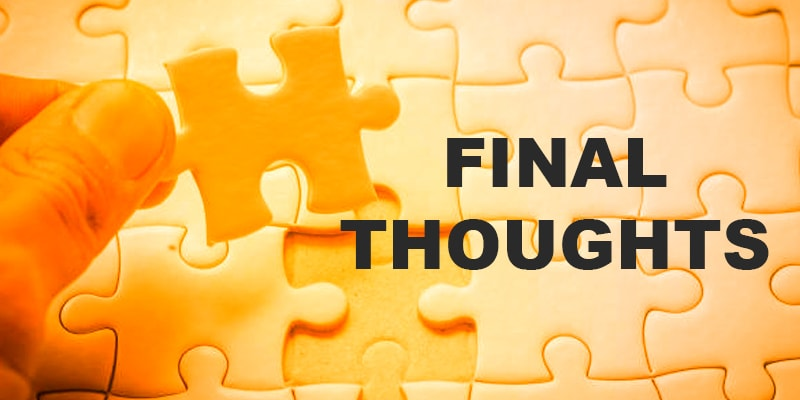 Final Thoughts - Nevina Infotech