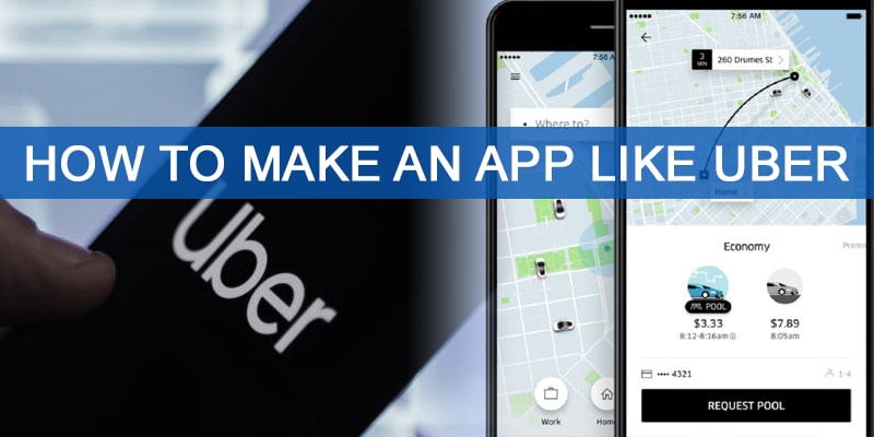 How To Make An App Like Uber | Nevina Infotech