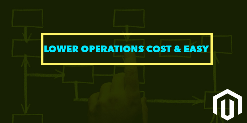 Lower Operations Cost and Easy Operations - Nevina Infotech