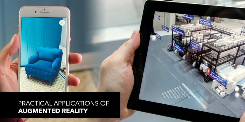 Practical Applications of Augmented Reality | Nevina Infotech