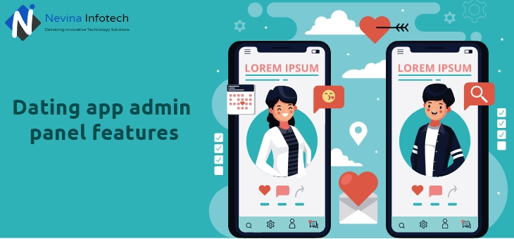 Dating app admin panel features