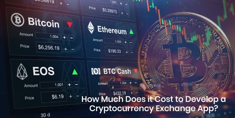 Cost to Develop a Cryptocurrency Exchange App
