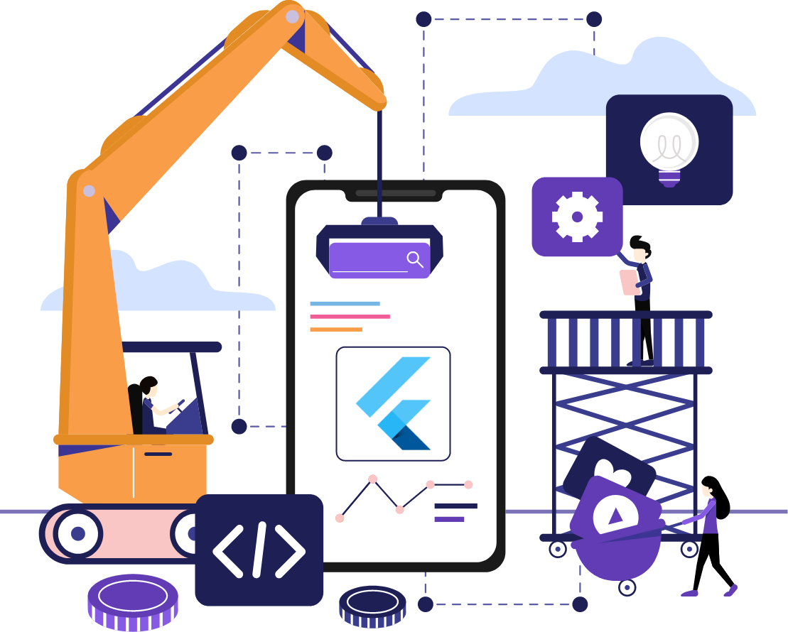 Flutter app Development Company in India